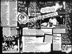 in 1982, the original Goth club opened over at Soho in London (most notably at Gossips located on 69 Dean St) This was a club organized by the members of the dark and glamorous Specimen, and featured Dj's such as Hamish Macdonald with his project Sexbeat, and Anni Hogan, who would become a long time…