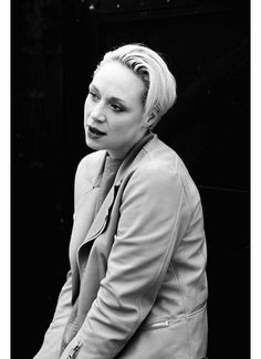 gwendoline christie - wishing there was a GOT solely about her, the dragons, the thrones, and the ice zombies.