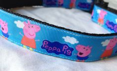 Your place to buy and sell all things handmade Handmade Dog Collars, Fun Dog, Angry Birds, Peppa Pig, Four Legged, Large Dogs, Dog Stuff, Rescue Dogs, I Love Dogs