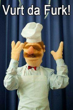 Love the chef!
