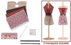 Amazon.com: Harumika Designer Dress form Sets - Paris, France: Toys & Games