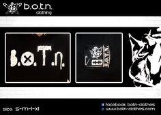 B.O.T.N. Hoodies (details)