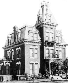 Hiram Scutt house Joliet, Illinois still standing