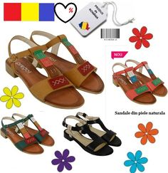 Reducere #sandale din #piele naturala Made in Romania | Outlet online