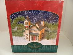 Authentic Christmas Valley the Bell Tower School Ceramic Lighted Hosue >>> You can find more details by visiting the image link.