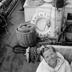 Charlotte Perriand on board the ship Aventure, August 15th 1938. Photo Paul Gutmann. Archives Charlotte Perriand