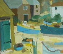 Richard Tuff - Cadgwith Boathouse