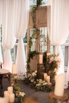 Organic Style Wedding Flowers