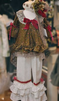 Couture Vintage Berry Victoria Top 2 to 10 Years - Children's Fall Clothing 2014