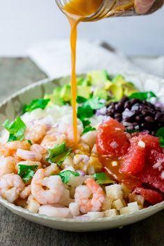 Recipe: Jicama Shrimp Salad
