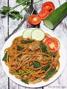 Mie Goreng Recipe, Sweet Recipes, Healthy Recipes, Indonesian Food, Food Pictures, Cookie Recipes, Food Porn, Easy Meals, Food And Drink