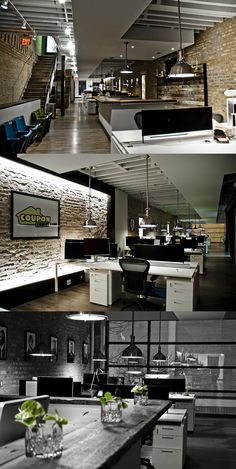 Gray tone photo looks gorgeous! ; Open Plan Office #openplanoffice Cubicles.com