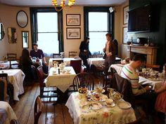 Around London: Soho's Secret Tea Room | Penny Dreadful Vintage