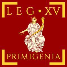 Legio XV Primigenia vexillums by Aquelion