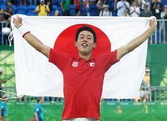 錦織が銅メダル獲得 日本勢96年ぶりの快挙、ナダル撃破<男子テニス>