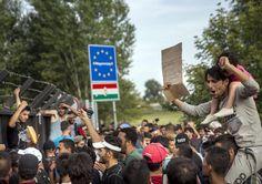 Informazione Contro!: EMERGENZA PROFUGHI Ungheria arresta i migranti Mer...