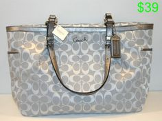 silver coach handbags - Google Search