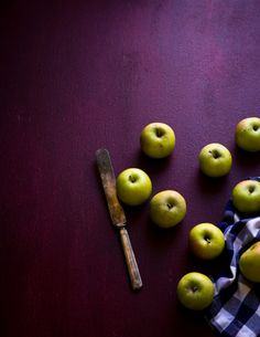 chartreuse and plum