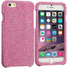 Pink Bling Rhinestone Case Cover for Apple iPhone 6 Plus 6S Plus (5.5)