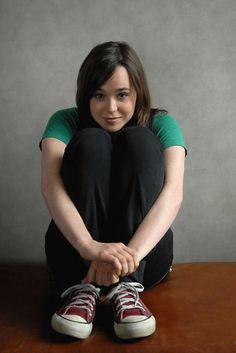 Ellen Page >w< So cute, hhehehe -Will
