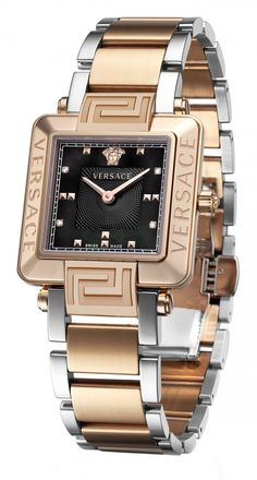 Versace Reve Carre Lady's Watch Stylish Watches, Luxury Watches, Cool Watches, Watches For Men, Versace Watches, Ladies Watches, Timex Watches, Women's Watches, Swiss Army Watches