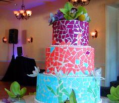 mosiac cake