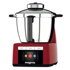 Robot Cook Expert Magimix 18904 Multifonction Rouge. Chocodivins.com Kenwood Cooking, Rice Cooker, Popcorn Maker, Risotto, Kitchen Appliances, Dessert, Parfait, Products, Marketing
