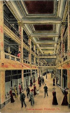 Interior of Jenkins Arcade, corner of Fifth, Liberty and Penn Avenues, Pittsburgh, PA