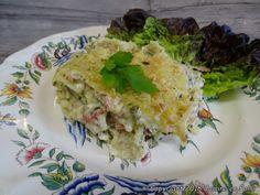 Cuisine en folie: Lasagnettes en gratin au jambon et fromage de chèvre, aux herbes et au Comté