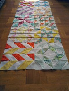 Scraps of My Life: WIP Wednesday (quilt-along half way point, 2 new blocks).  #quilting #sewing #layercakesamplerqal