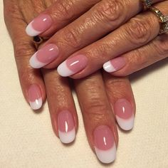 Absolutely stunning Pink and White nails by @cbergmann68 using Tammy Taylor Whitest White and P3 Nail Powder!   tammytaylornails.com