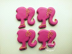 Barbie cookies