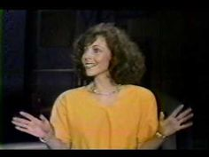 RITA RUDNER ON DAVID LETTERMAN Stand Up Comedians, Funny People, I Laughed, Laughter, Weird, David, Smile, Actors, Tv
