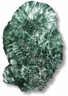 Seraphinite is a stone of spiritual enlightenment. It is said to be among the most important stones discovered for connecting and communicating with higher energies.