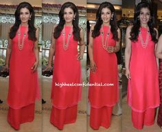 In Anita Dongre- Raveena Tandon At Hers and Roopa Vohra's Jewelry Collection Launch-1