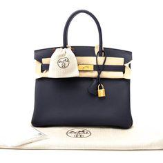 7be0edb445 I am selling this 30cm Bleu Nuit Togo Leather Hermès Birkin
