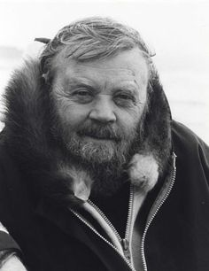 Farley Mowat was born (1921) in Belleville, Ontario.  He is a conservationist and one of Canada's most widely-read authors.  His works have been translated into 52 languages and he has sold more than 14 million books. He achieved fame with the publication of his books on the Canadian North, such as People of the Deer (1952) and Never Cry Wolf (1963).