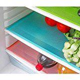 nice 4 pcs / lot 29cm45cm Multifunction Refrigerator Pad Mat Fridge Anti-fouling Anti Frost Waterproof Pad