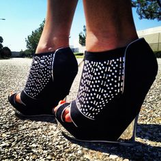 Really interesting wedges! Love!
