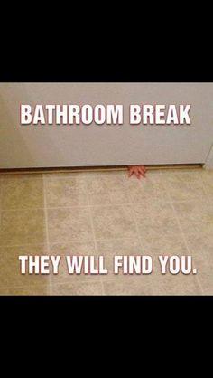 Bathroom break Being a parent  Eltern sein Mutter sein Mama sein  Vater sein Papa sein   Pause  Bad Sie finden dich ;)