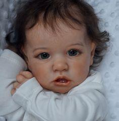 Dollish Little Alina Reborn Saskia Baby Doll Girl, Realistic&Lifelike Newborn Baby Dolls Bb Reborn, Silicone Reborn Babies, Reborn Toddler, Reborn Baby Girl, Baby Girl Dolls, Toddler Dolls, Reborn Dolls, Silicone Baby Dolls, Baby Boy