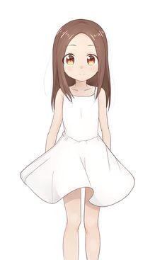 Karakai Jouzu no Takagi-san Cute Anime Pics, Cute Anime Couples, Anime Love, Manga Art, Manga Anime, Character Art, Character Design, Dibujos Anime Chibi, Anime Child