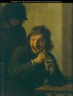 The Flutist - Adriaen Brouwer - WikiGallery.org, the largest ...