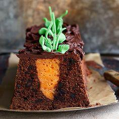 Porkkanainen suklaakakku - Reseptejä