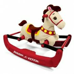 Check out The Soft Rock & Bounce Pony with Sound from Radio Flyer! It is your classic rocking horse with two ways to ride: Rocking backing and forth or bouncing up and down. Safe and quiet ride for kids ages Radio Flyer, Toddler Toys, Kids Toys, Baby Toys, Toddler Gifts, Top Toys, Cool Baby Stuff, Kid Stuff, Classic Toys