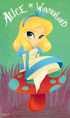 Alice in Wonderland by melissa ballesteros
