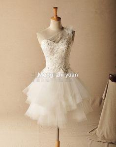 Mzycj008 sans manches bretelles robe de bal kneelength perles de demoiselle d'honneur robes dans Robes de demoiselles d'honneur de Mariages et événements sur AliExpress.com | Alibaba Group