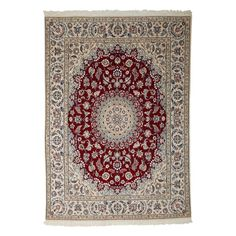 "Nain Collection Persian Rug, 6'6"" x 8'5"""