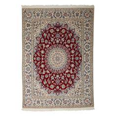 """Nain Collection Persian Rug, 6'6"""" x 8'5"""""""