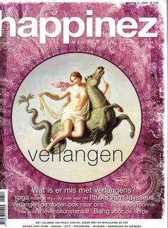 Dutch magazine Happinez... Verlangen = desire